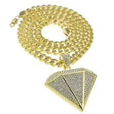 diamond shape diamond shape gold cuban chain cuban chains