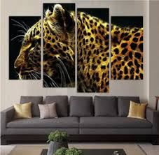 Animal Print Wall Decor Discount Framed Leopards Painting 2017 Framed Leopards Painting