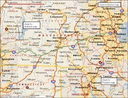 road map massachusetts usa map of massachusetts united states