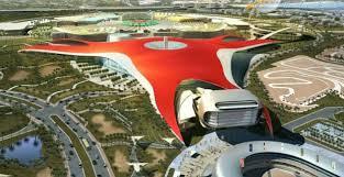 in abu dhabi roller coaster park high way travel tourism