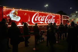 calls for coca cola christmas truck to be banned bournemouth echo