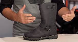 cruiser style motorcycle boots tcx fuel wp boots review at revzilla com youtube