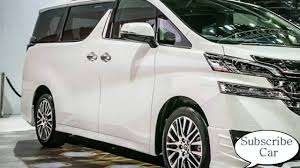 toyota vans best van 2016 2017 toyota alphard 2016 2017 model video review
