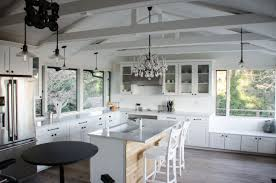 vaulted kitchen ceiling ideas crown molding cathedral vaulted ceiling white kitchen decor craze