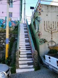 piano escalier street art street art pinterest street art