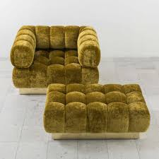 Tufted Arm Chairs Design Ideas Chair Unusual Impressive Brown Flowers Chairs And Ottoman Set