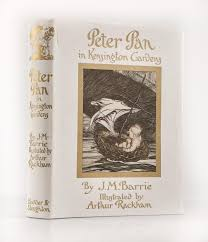 peter pan in kensington gardens by barrie 1906 first edition