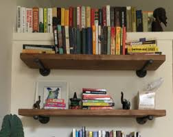 Bookcase Clips Industrial Shelving Etsy