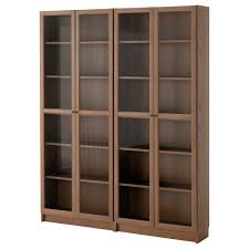 Small Bookcases With Glass Doors Bookshelves Bookcases Ikea With Glass Doors Pertaining