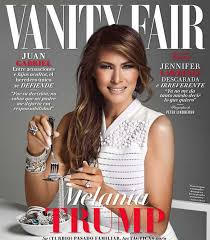 Vanity Fair North Bend Melania Trump Is Eating Jewels On Vanity Fair Mexico U0027s Cover And