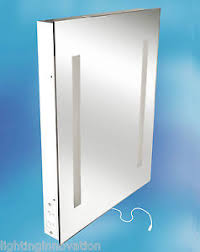 bathroom mirrors with shaver sockets illuminated bathroom mirror and shaver socket 500mm x 390mm x 60mm