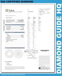 diamond clarity chart and color how to read a gia diamond report u2013 jewelry secrets