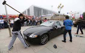 owns maserati owner destroys 276 000 maserati at car in china just because