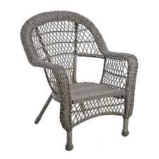 Kirklands Patio Furniture Savannah Gray Wicker Chair Kirklands