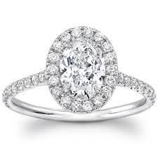 engagement rings cut images 1 40ctw oval cut diamond engagement ring platinum costco uk jpg