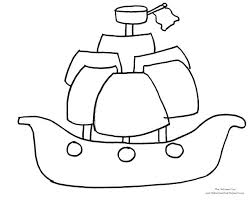 lovely pirate ship coloring pages kids pdf pirates