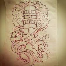 Lighthouse Tattoo Ideas 96 Best Lighthouse Tattoo Images On Pinterest Lighthouse Tattoos