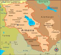 armenia on world map armenia earth map
