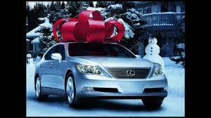 lexus car commercial lexus december to remember radio commercial