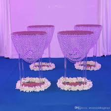 Wedding Chandelier Centerpieces Table Top Decoration Big Elegant Fashion Crystal Chandelier Stands