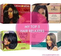 top relaxers for black hair my top five 5 hair relaxers glam o sphere