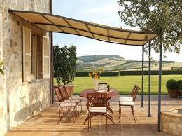 Sunshade Awning Gazebo Small Patio Furniture Long Term Solution For Sunshade Beautiful