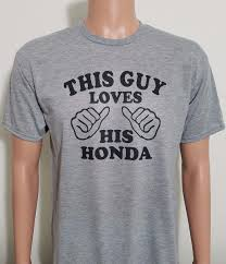 jeep shirt this guy loves his honda funny car t shirt