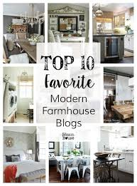 top 10 favorite blogger home tours modern farmhouse modern and