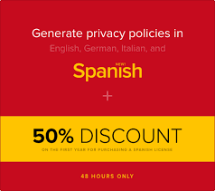 privacy policy in spanish