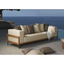 canap d exterieur canapé de jardin de qualité luxe et design cléo signé talenti