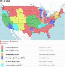 Nfl Tv Map Week 3 How To Watch Redskins Vs Chargers Tv Radio U0026 More Los