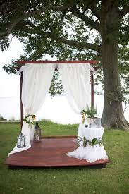 Small Backyard Wedding Ideas Italian Themed Backyard Wedding Grace