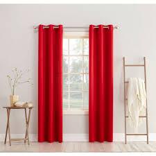 Energy Efficient Curtains Sun Zero Millennial Arya Room Darkening Grommet Curtain Panel