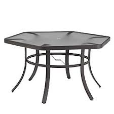 Hexagon Patio Table Hexagon Shaped Outdoor Table
