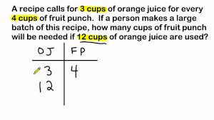 ratio tables worksheets with answers ratio word problems using ratio tables to solve youtube