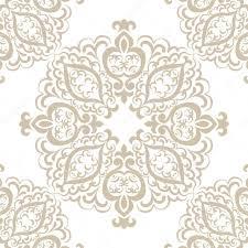 islamic ornament damask pattern stock vector inagraur ymail