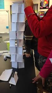The Challenge How To Do It Stem Index Card Tower Challenge Tower Stem Activities And School