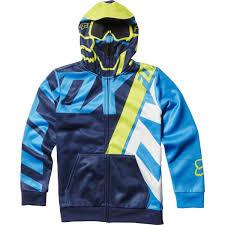 fox motocross sweatshirts amazon com fox racing youth boys eskridge fleece hoody zip