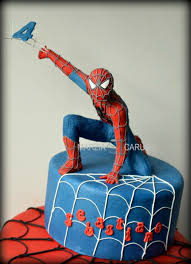 marvelous spider man cake between the pages