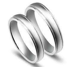 white gold wedding ring affordable couples wedding ring bands on 10k white gold