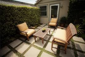 Small Backyard Ideas Landscaping Concrete Backyard Landscaping Interesting Interior Design Ideas