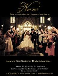 wedding dress alterations london of the groom in kitchener nocce bridal alterations
