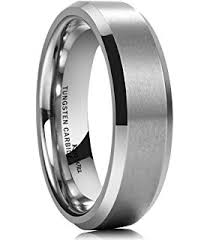 mens wedding bands that don t scratch tungary tungsten rings for men wedding engagement band brushed