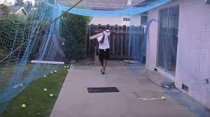 cricket nets backyard 2 youtube
