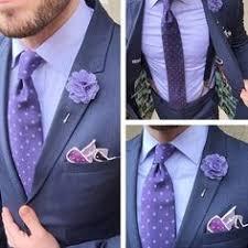 lapel flower image of purple floral lapel flower mm men s