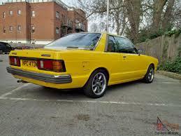nissan bluebird 1970 datsun bluebird coupe 1 8sss yellow