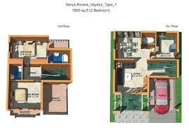 Well House Plans by Skillful Design 2 Bedroom House Designs In India 12 India House