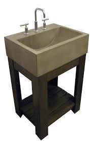 handmade concrete sink lacus concrete sink by trueform concrete
