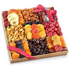dried fruit gift extravagance dried fruit nuts and treats gift tray sam s club