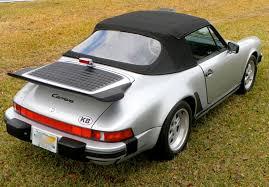 1989 porsche 911 anniversary edition 1989 911 silver edition 25th anniversary convertible 1 of